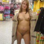 Flashing Nackt Im Kaufhaus